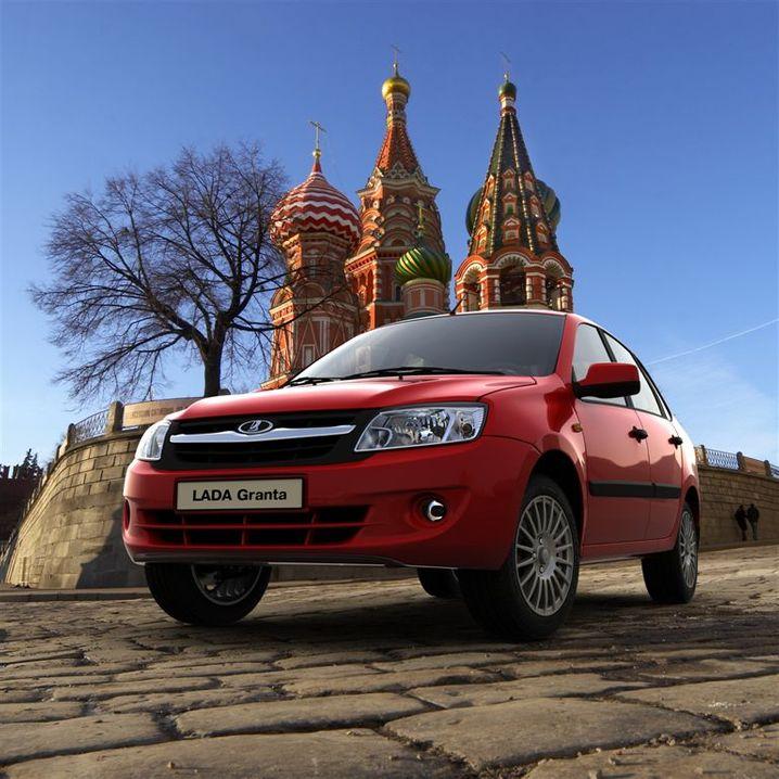 Lada Granta: Die Marke Lada spürte zuletzt wieder Aufwind, dennoch will der Hersteller viele Jobs in Russland streichen