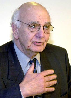 Gibt auf: Paul Volcker