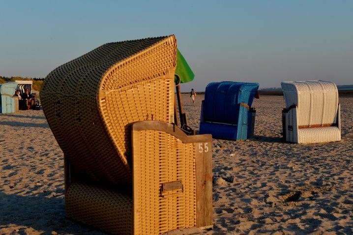 Am Strand von Utersum: Föhr ist vor allem bei Leuten beliebt, die es etwas ruhiger mögen