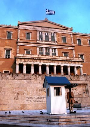Unter Druck: Griechenlands Banken fordern Staatshilfe