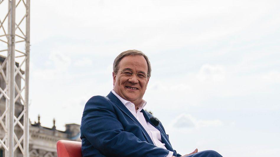 Favorit der Bosse: CDU-Kanzlerkandidat Armin Laschet bekommt schlechte Umfragewerte. Große Teile der Industrie stehen allerdings hinter ihm.