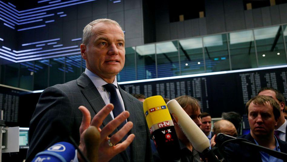 Kann sich seiner Vertragsverlängerung noch nicht sicher sein: Deutsche-Börse-Chef Karsten Kengeter