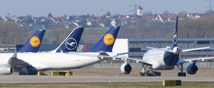 Aktien der Lufthansa steigen in Erwartung von Staatshilfe am Montag deutlich