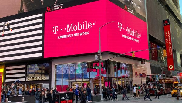 T-Mobile-US-Filiale am Times Square in New York