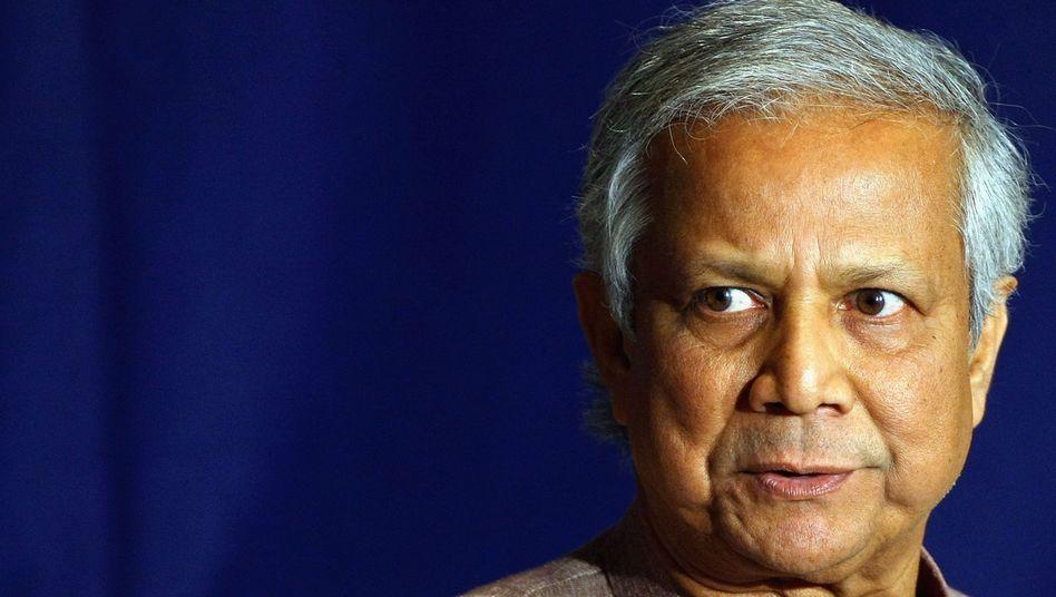 Grameen-Bank-Gründer Muhammad Yunus: Mit dem Friedensnobelpreis und der Presidential Medal of Freedom geehrt