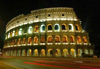 Colosseum in Rom: Die Parlamentswahlen in Italien haben europaweit Bedeutung