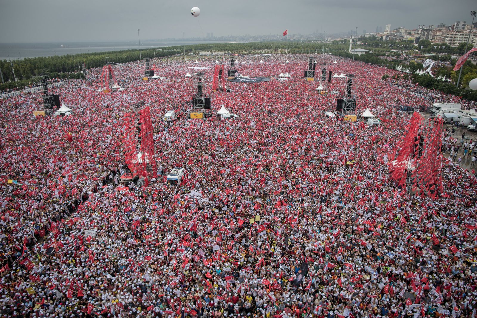 Vor den Wahlen in der Türkei