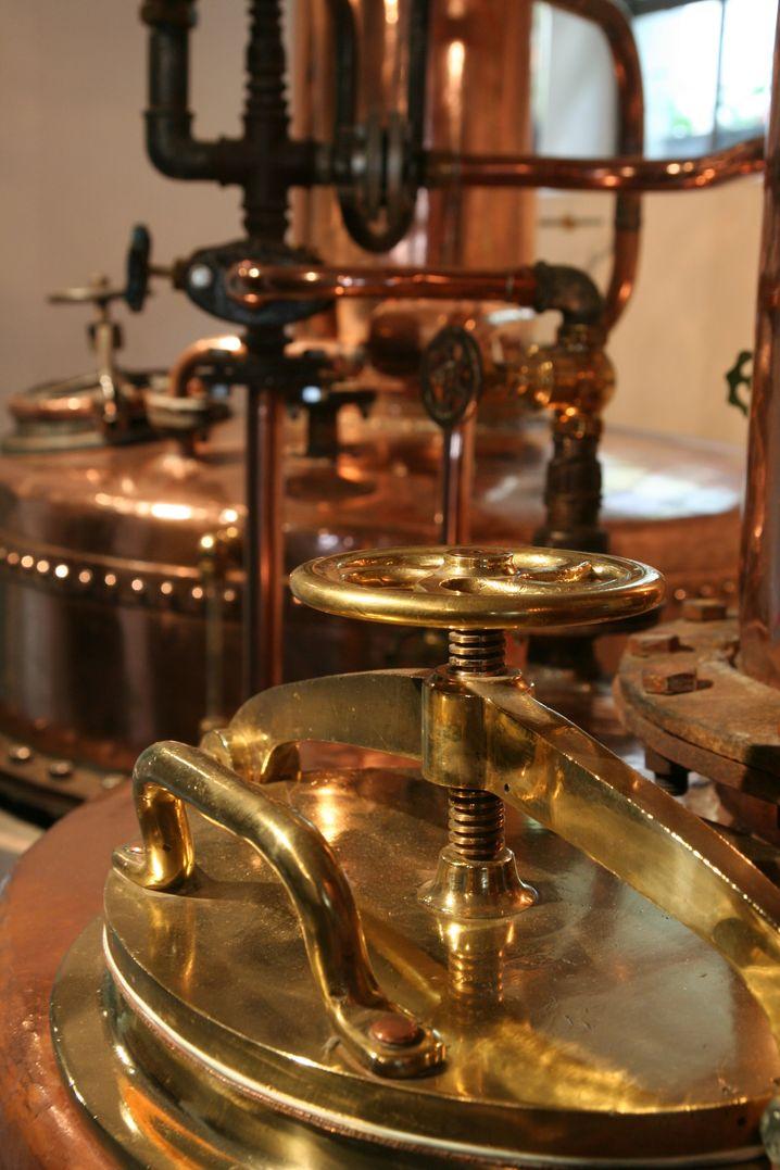 Schönheit der Technik: Die historische Brennerei im Landgasthof Gemmer