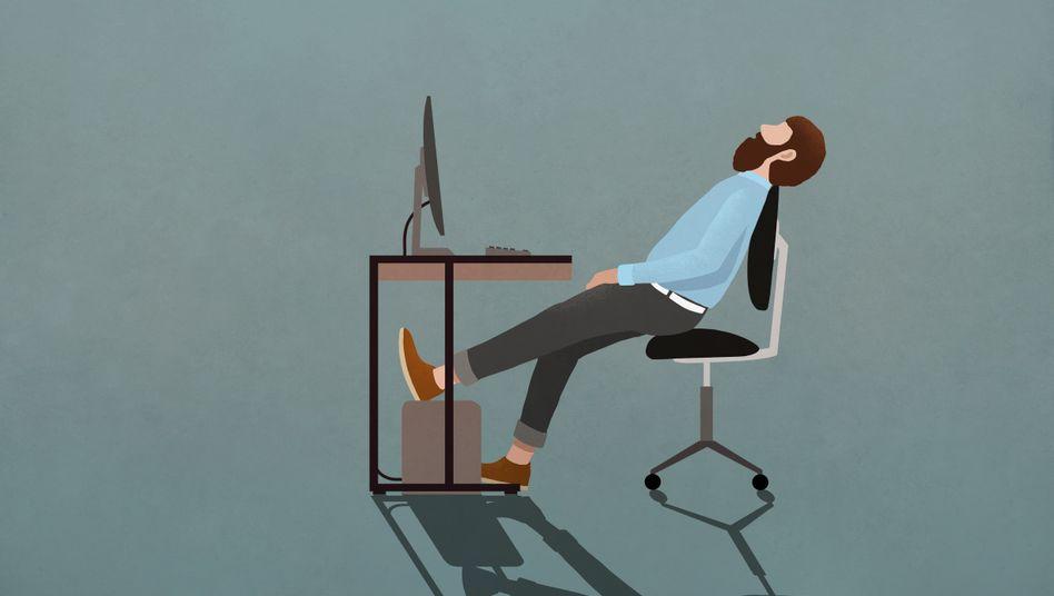 Laaaaangweile kann schlimmer sein als Stress.