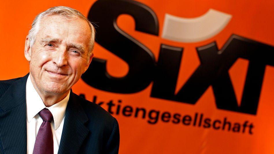 Expansion in den USA: Firmenchef Erich Sixt baut das Geschäft mit Franchisenehmern aus