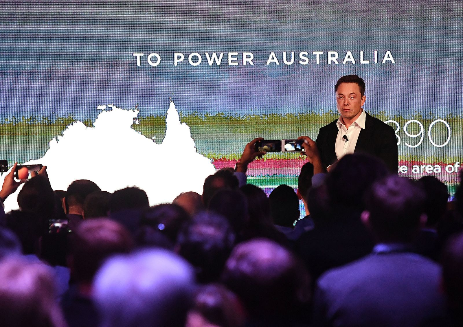 Elon Musk / Tesla Powerpack Launch