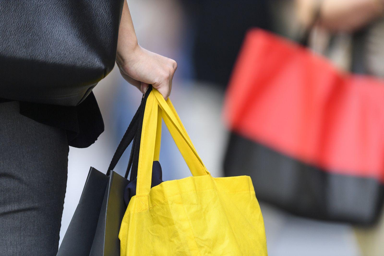 Konsum Einkaufstüten