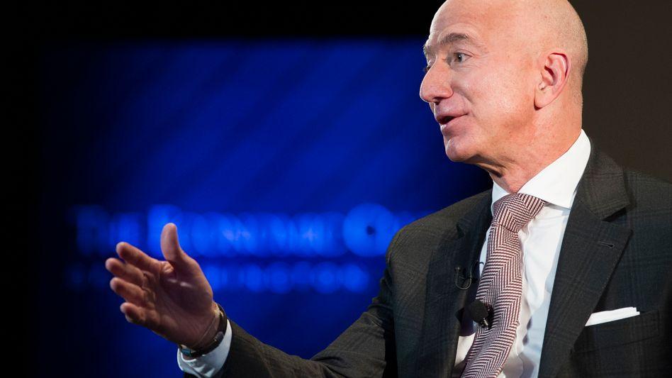 Jeff Bezos: Der Amazon-Chef sieht sich mit dem Vorwurf des Marktmachtmissbrauchs konfrontiert