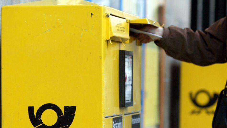 Briefkasten der Deutschen Post: Die genaue Höhe der Rückzahlungen müssen die deutschen Behörden ermitteln