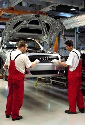 Vorzeigeprojekt: Audi-Werk im ungarischen Györ