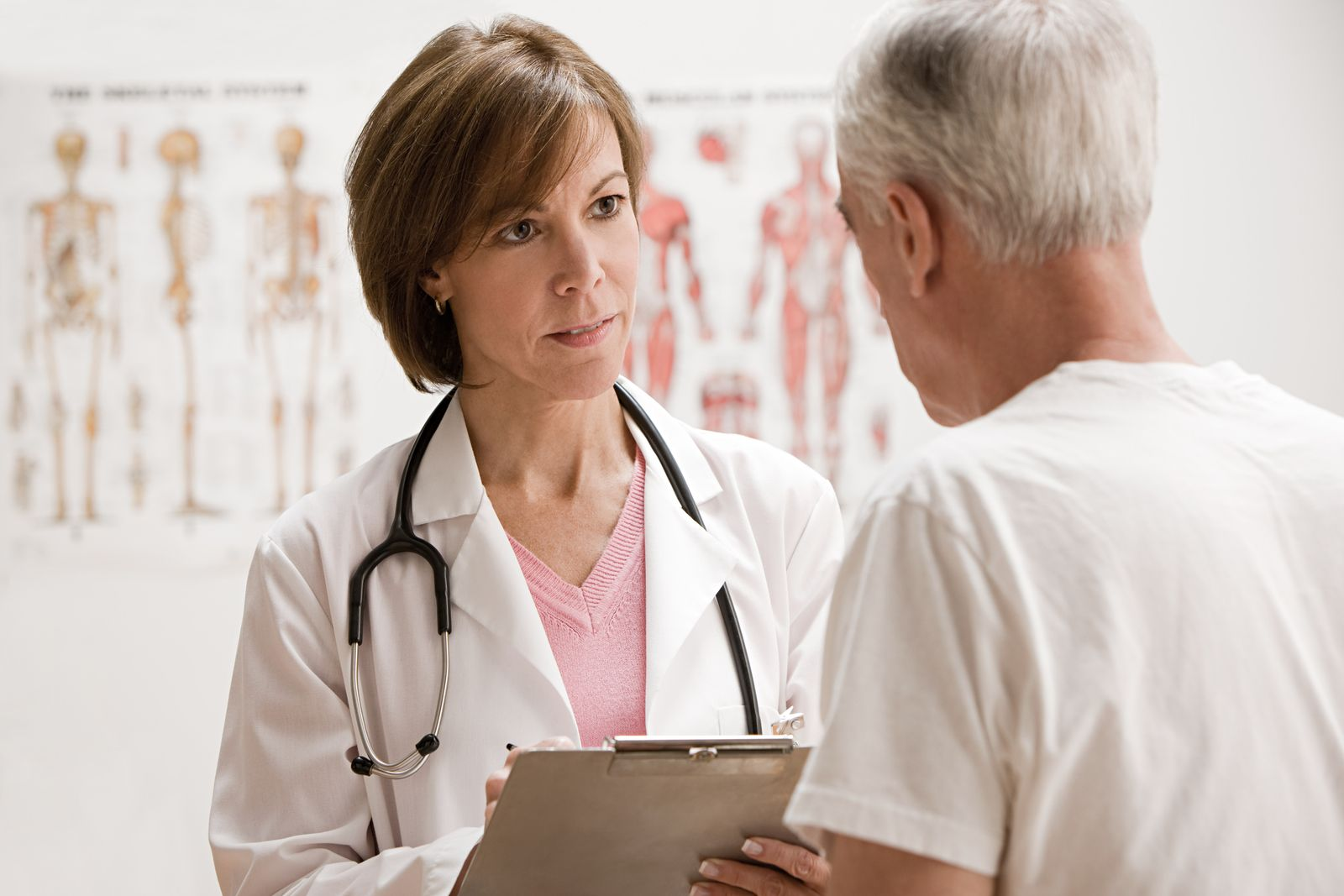 NICHT MEHR VERWENDEN! - Arzt / Ärztin / Patient / Praxis / Untersuchung