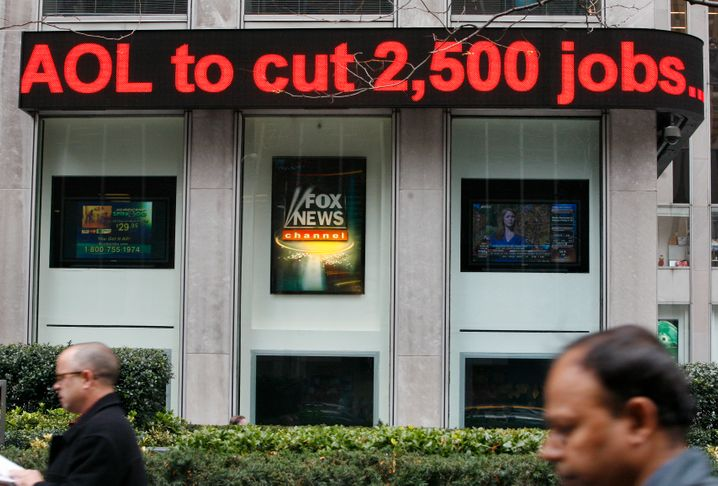 AOL-Jobabbau: Der Firma schien einmal das Internet und damit die Zukunft zu gehören