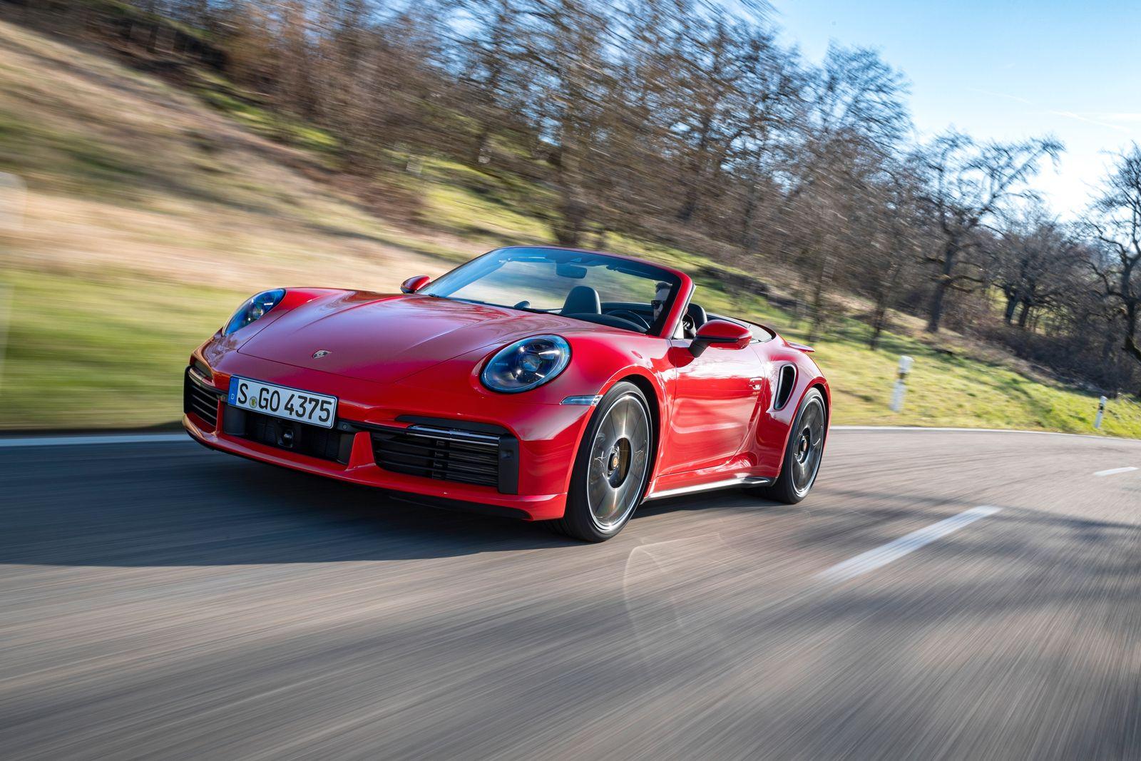 Porsche / 911 Turbo S Cabriolet / Frontansicht