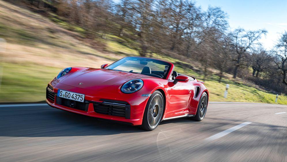 Porsche 911 Turbo S Cabrio in Bildern: Frischluftvergnügen, knochenhart