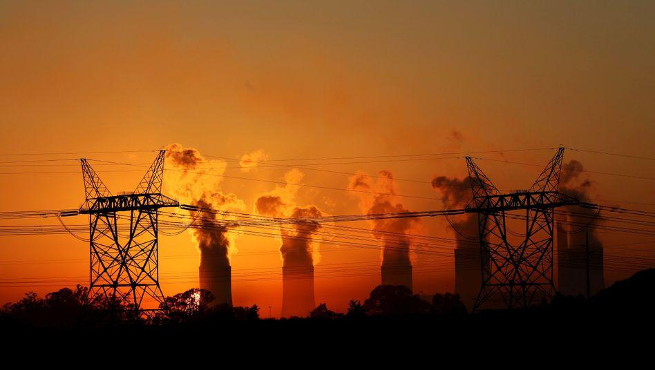 Kohlekraftwert im südafrikanischen Metsimaholo