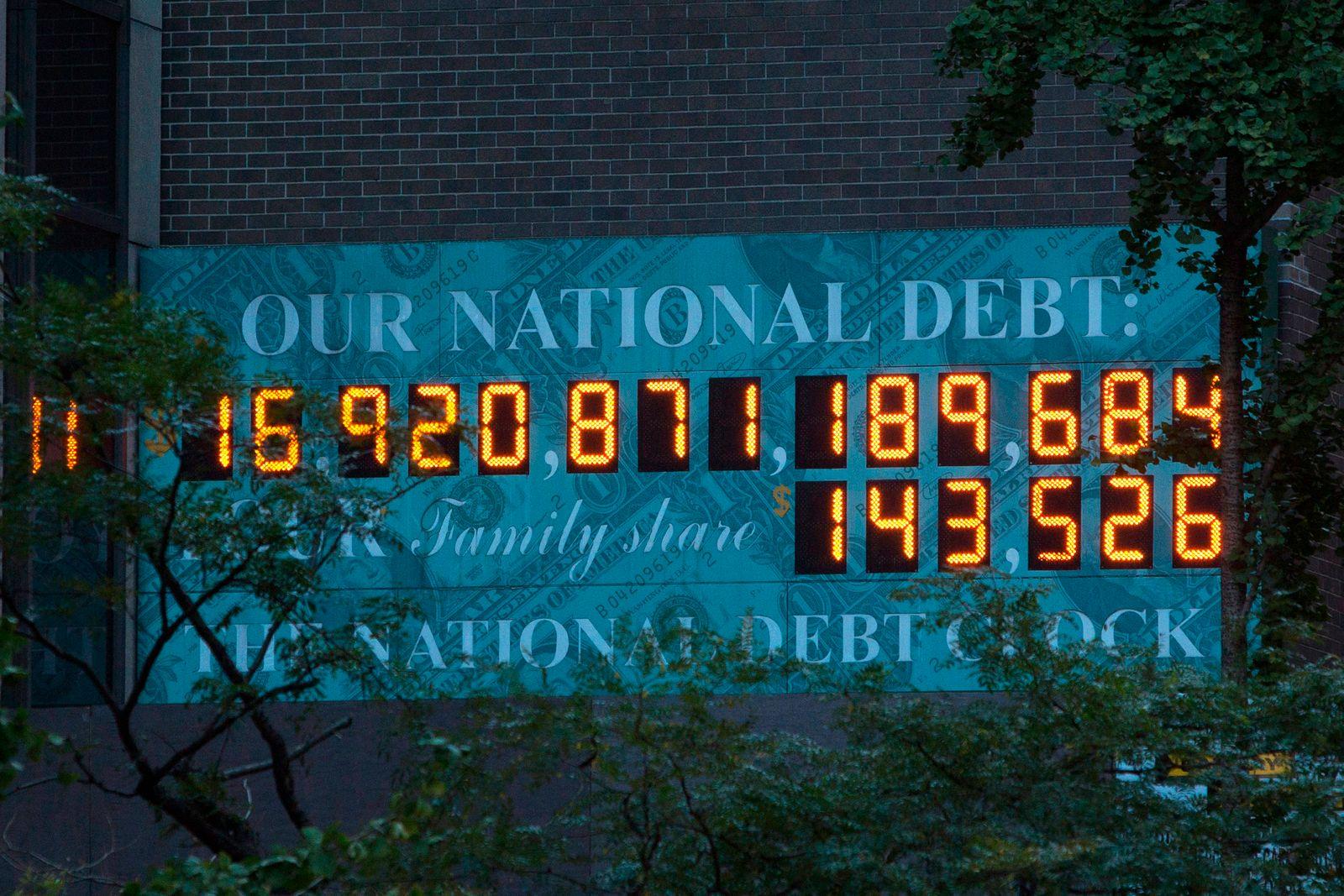 USA / Schulden / Nationale Schulden