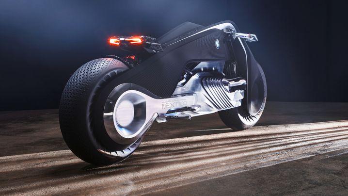 BMW-Vision Next 100: Dieses Motorrad macht den Helm überflüssig