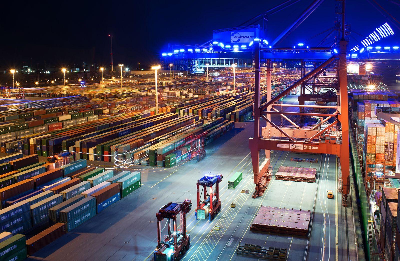 Deutschland / Konjunktur / Wirtschaft / Industrie / Export / Container