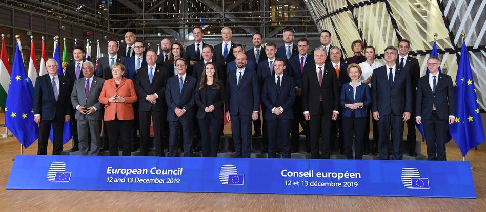 """Spitzenpersonal bei EU-Gipfel: """"Keine Spaltung Europas in verschiedene Teile"""""""