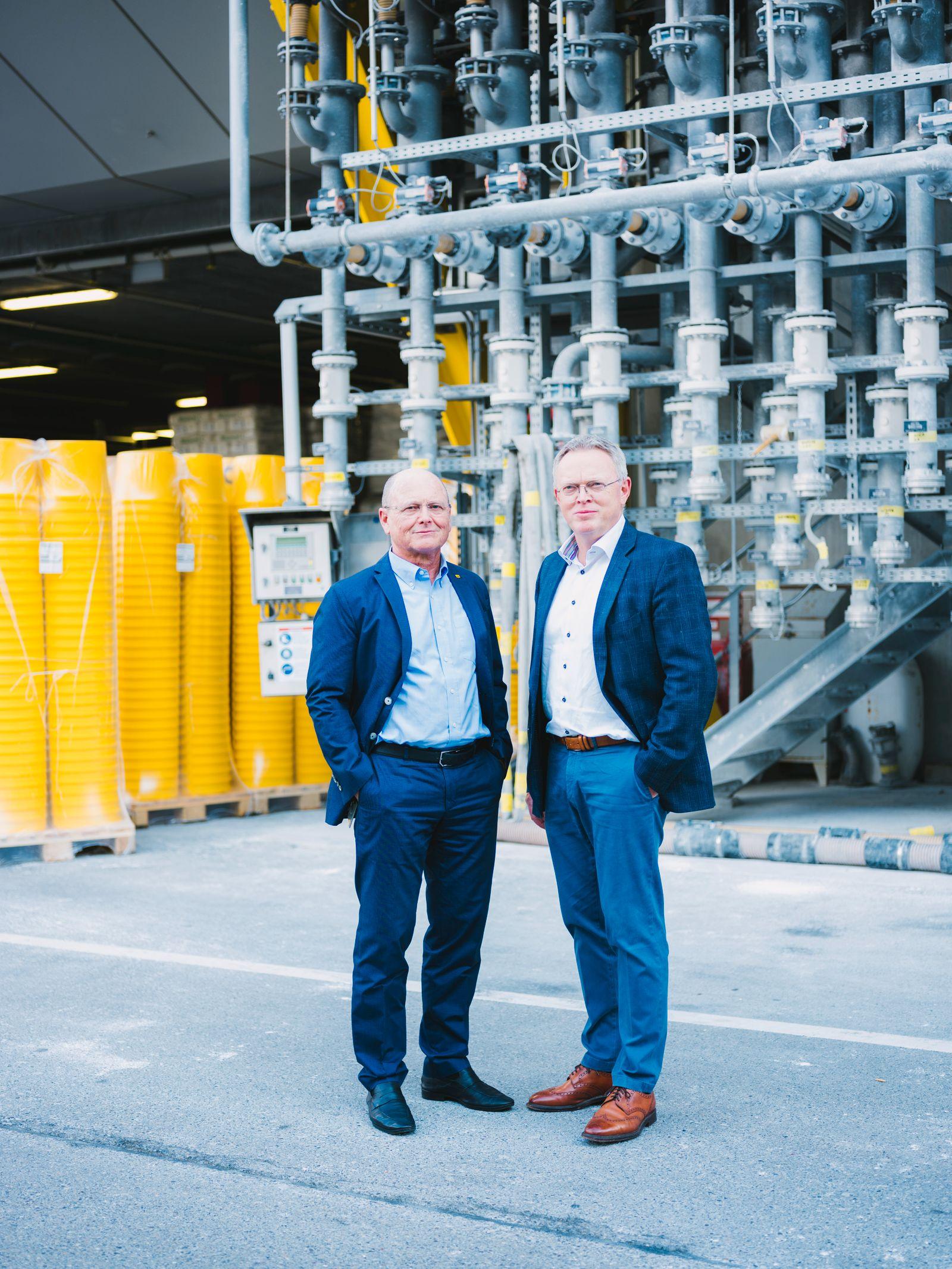 STO - Jochen Stotmeister (links) und Gerd Stotmeister