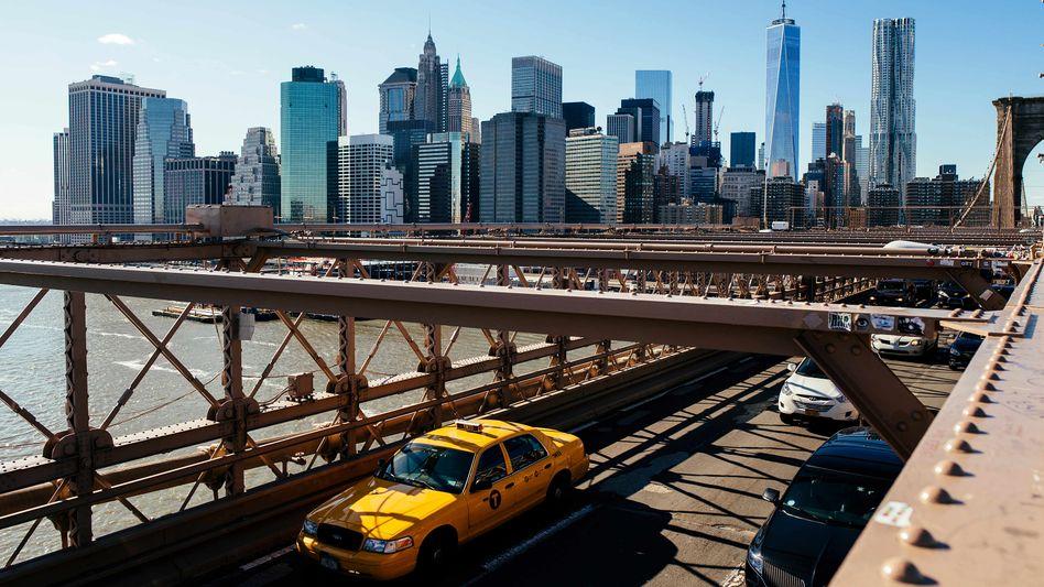 """Blick auf Manhattan: """"Bleiben Sie zu Hause - wir alle befinden uns jetzt in einer Art Quarantäne"""""""