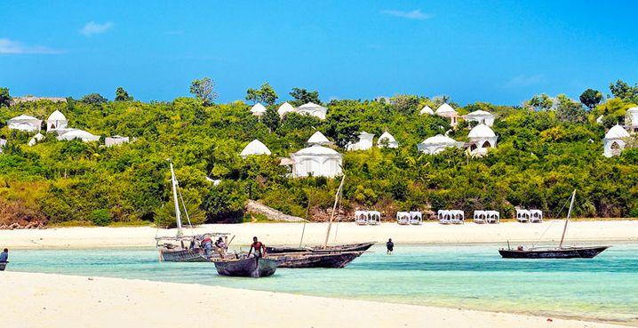 Weiße Villen in fröhlicher Abgeschiedenheit: Kilindi Zanzibar Resort