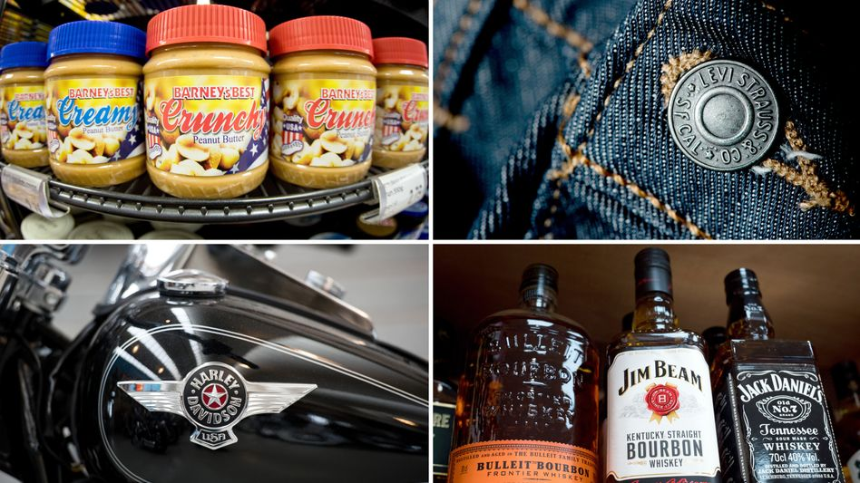 Jeans, Whiskey, Harley, Erdnussbutter: Die EU hat mögliche Strafzölle auf US-Produkte bei der WTO vorgelegt
