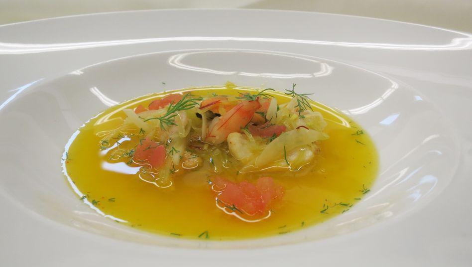 Ideal für einen Detox-Tag: Leichte Fischsuppe mit Fenchel