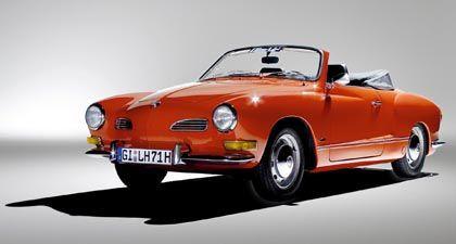 Nächste Perle in Piëchs Reich: Karmann - hier der Klassiker Ghia - schlüpft unter das Dach von Volkswagen