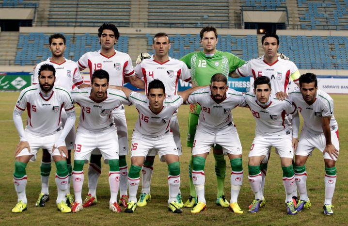 Mit deutscher Hilfe ausgerüstet: Iranische Mannschaft
