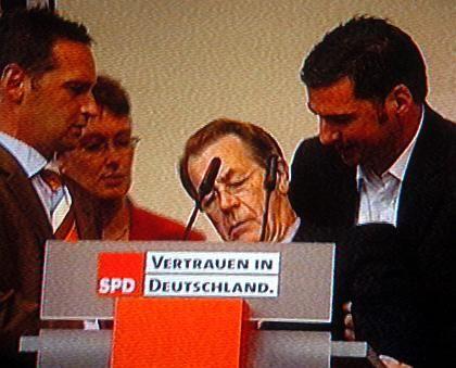 SPD-Chef Müntefering: Kollaps durch anstrengendes Wahlkampf-Pensum