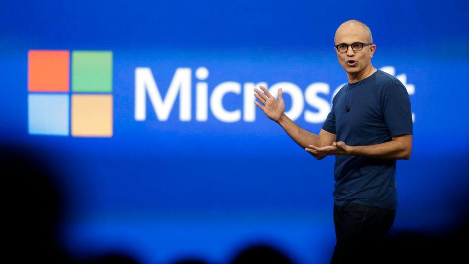 Microsoft-Chef Nadella: Der Konzern ringt um Erfolge im Mobilgeschäft
