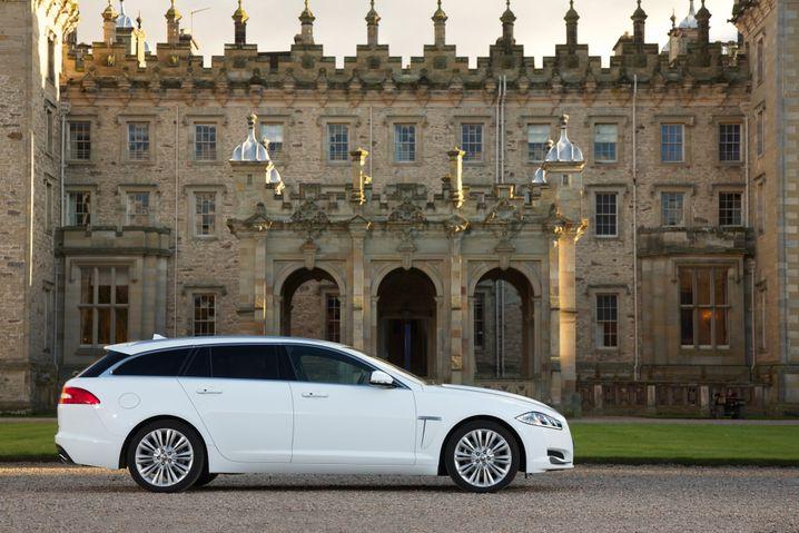 Elegante Linien für Familienväter: Jaguars Edelkombi XF Sportbreak
