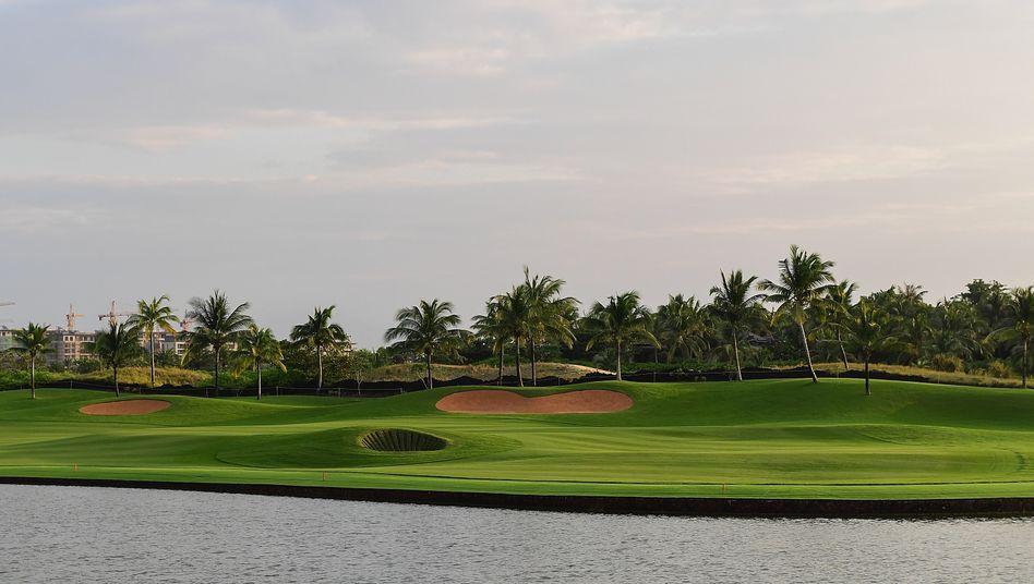 Golfanlage auf Hainan: Alibaba-Gründer und Technologie-Unternehmer Jack Ma wurde auf der Insel beim Golfen beobachtet