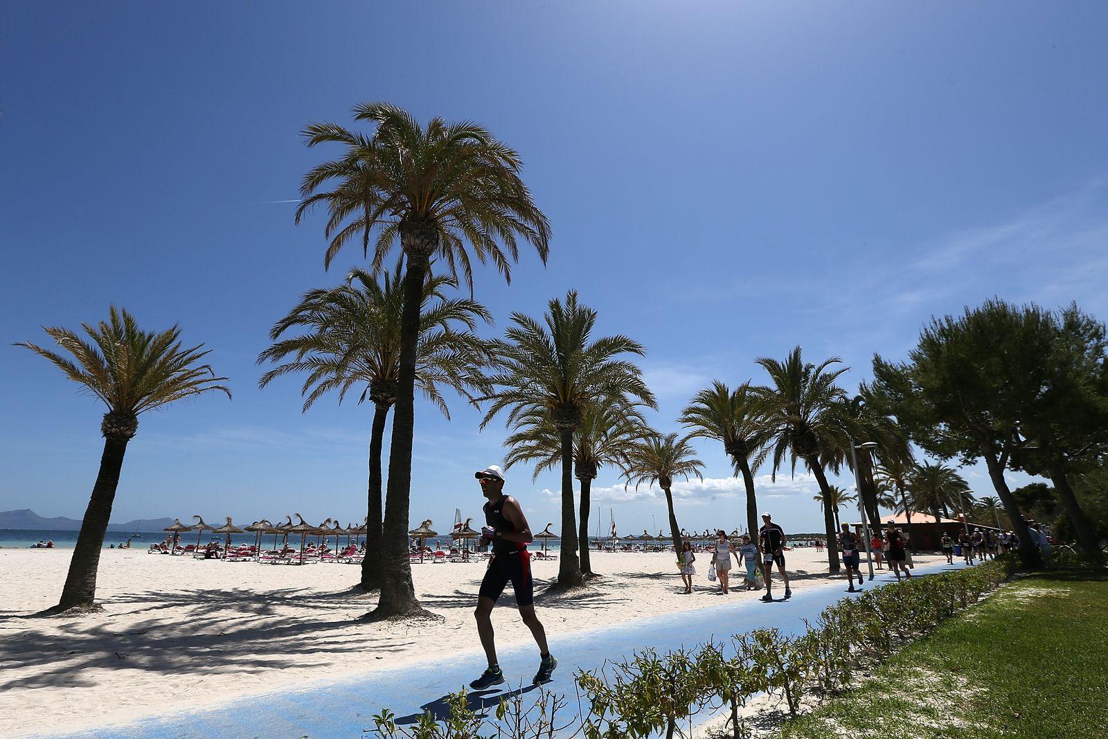 EINMALIGE VERWENDUNG Mallorca / Palma / laufen