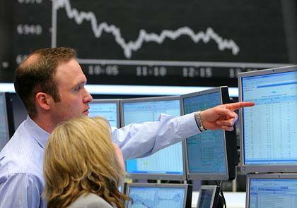 Die Richtung stimmt nicht: Deutliche Kursverluste an der Börse in Frankfurt/Main