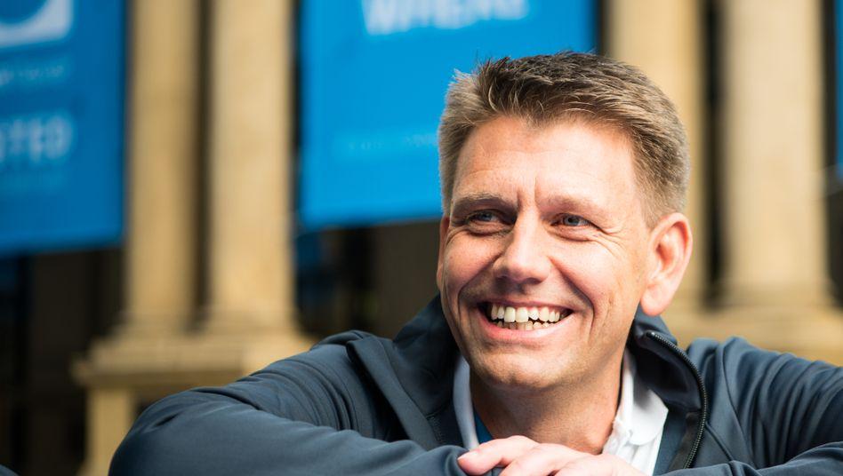 TeamViewer-Chef Oliver Steil: Mit dem Homeoffice-Boom macht der Softwareanbieter gute Geschäfte