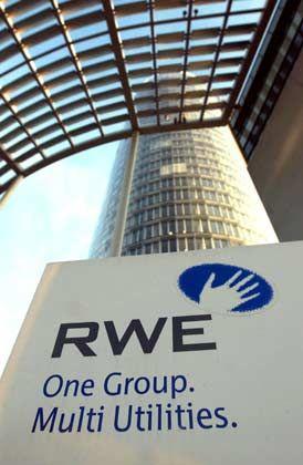 RWE: Gewinn steigt, Umsatz sinkt