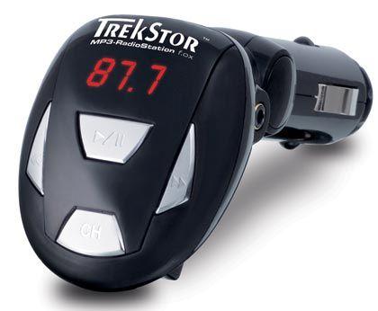 Empfangsprobleme möglich: Dieser FM-Transmitter von Trekstor muss in die Buchse des Zigarettenanzünders eingesteckt werden und lässt sich damit im Auto nicht frei positionieren