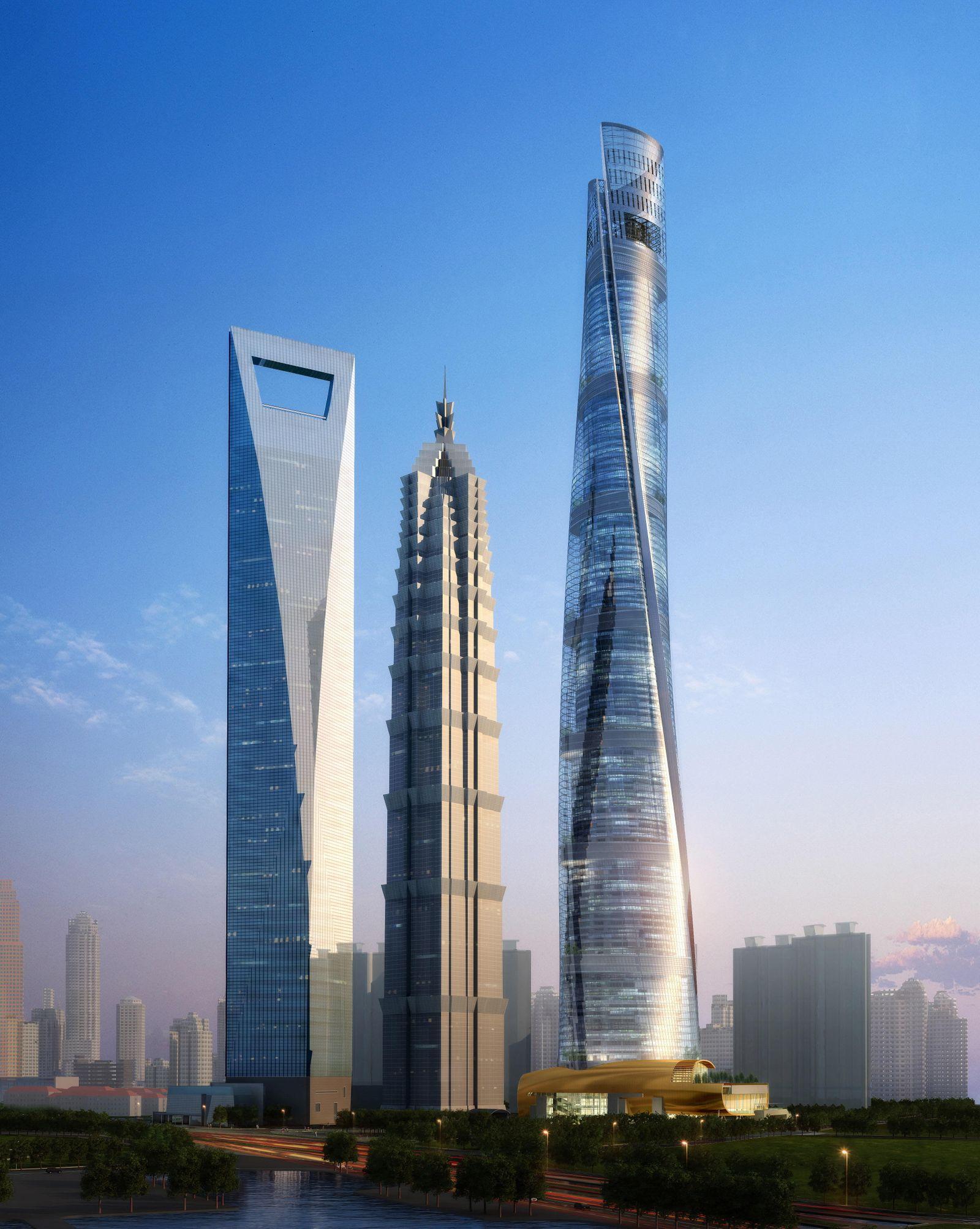 Skyscraper / Hochhäuser / Wolkenkratzer / Shanghai Tower