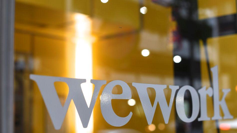 WeWork-Logo: Für Mitgründer Neumann könnte sich die Softbank-Übernahme finanziell auszahlen