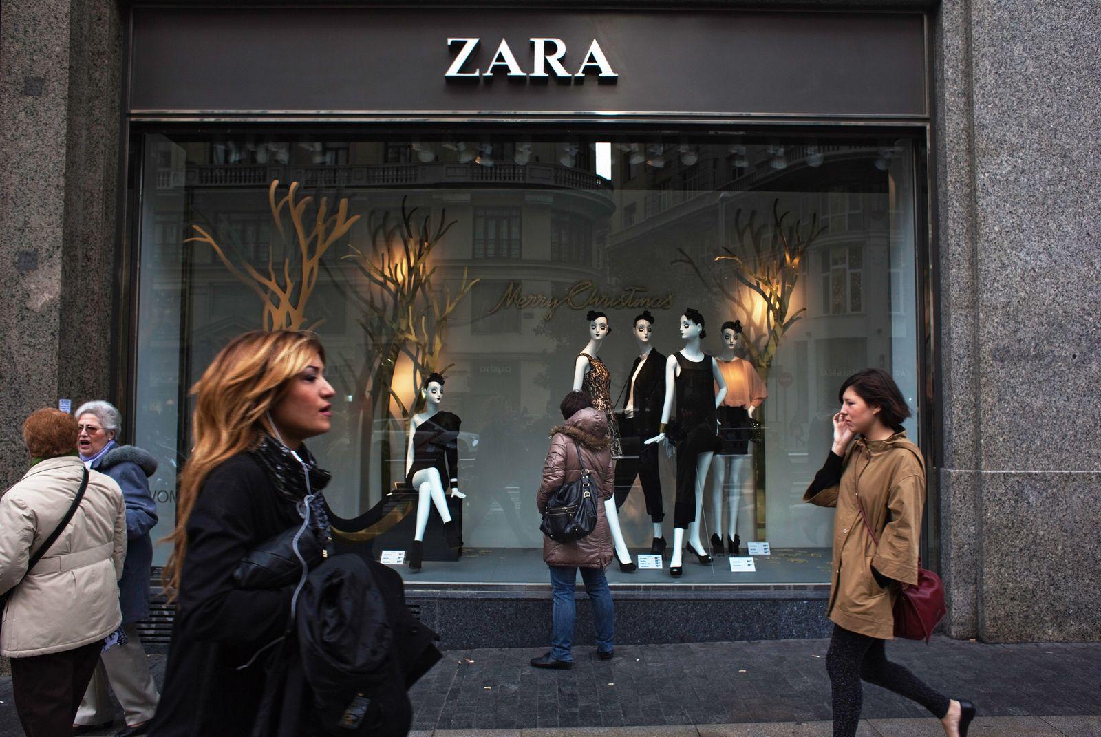 Zara/ Filiale/ Spanien/ Madrid