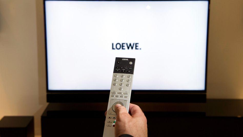 Das Loewe-Management ist noch auf der Suche nach dem richtigen Programm.