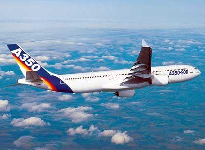 Seit Dezember offizielles Airbus-Modell: Airbus A350