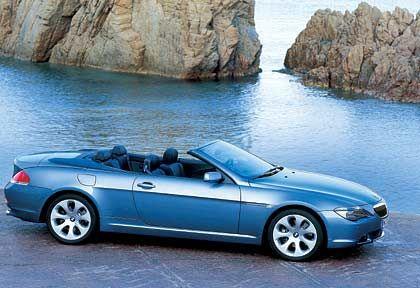 """BMW 6er Cabrio: Rund 1400 hiesige Autokäufer unterschrieben ein """"Manifest gegen die Gewöhnlichkeit"""" (BMW) und entschieden sich im vergangenen Jahr für den offenen 6er."""